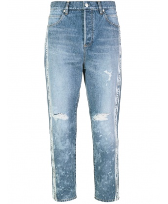 Jeans Logo Sbiadito