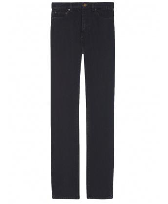 Jeans stile anni '90 in denim nero