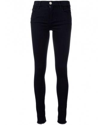 Jeans Nero con Zip