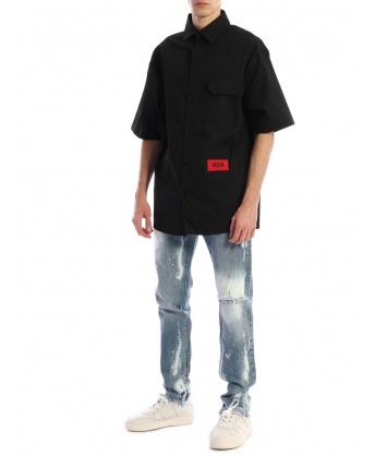 Camicia Logo Nero