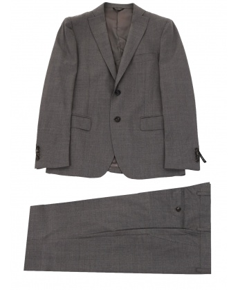 Wool suit gray