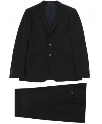 Wool suit black