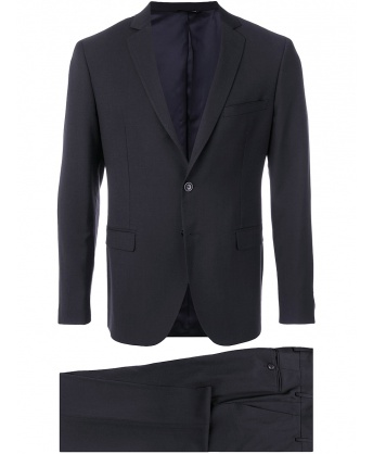 Two-Piece Noir Suit