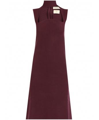 Burgundy Jersey Dress