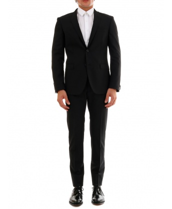 Suit in Black Wool
