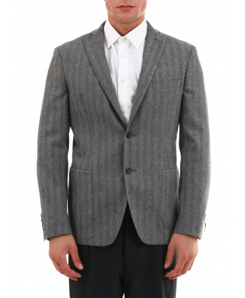 Gray Wool Jacket