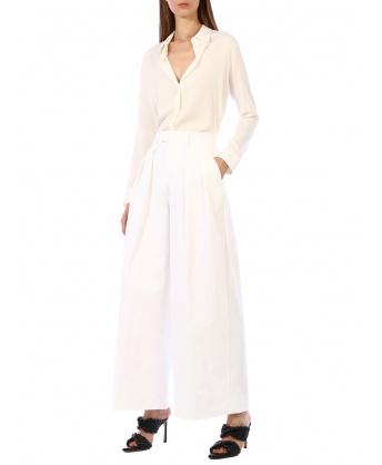 Nylon Trousers white