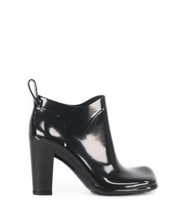 Shine Shiny Rubber Ankle boots