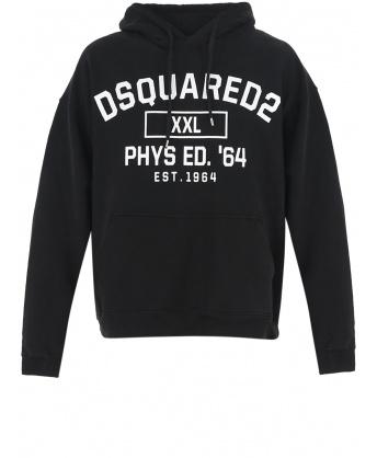 D2 XXL Herca hoodie black