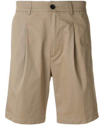 Beige Chino Short Pants