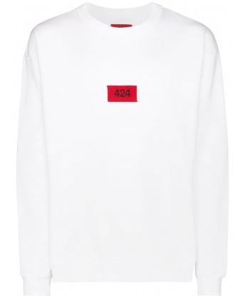 Sweatshirt Logo White