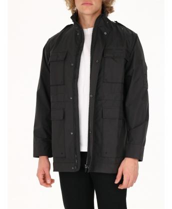 Windproof jacket 4 pockets black