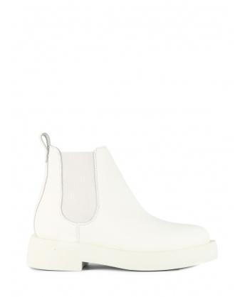 Mileno Chelsea White Leather