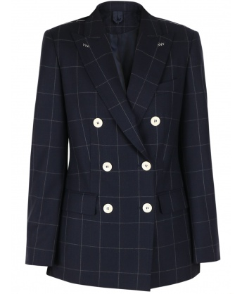 Virgin wool blazer blue