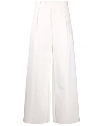 Nylon Trousers white