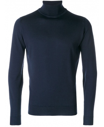 Merino wool sweater blue