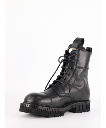 Black Laced Up boot