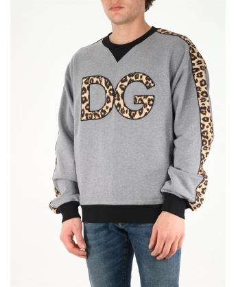 DG animalier print sweatshirt