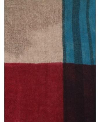 Jammy multicolor cashmere scarf