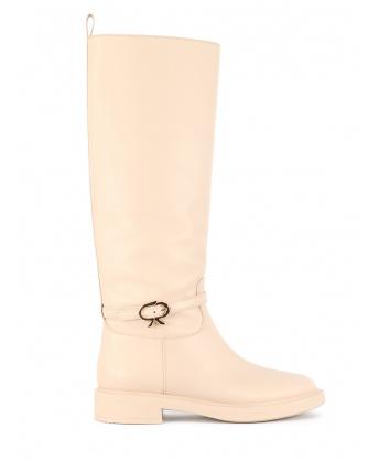 Ribbon Cavalier boots