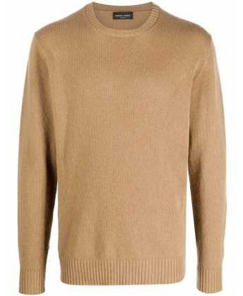 Beige wool sweater