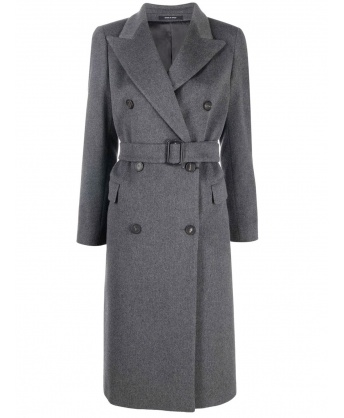 Jole gray double-breasted coat