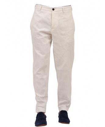 Icy White Chino Pants