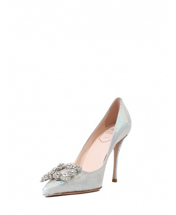 Pumps Flower Strass