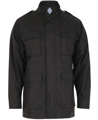 Windproof jacket 4 pockets black