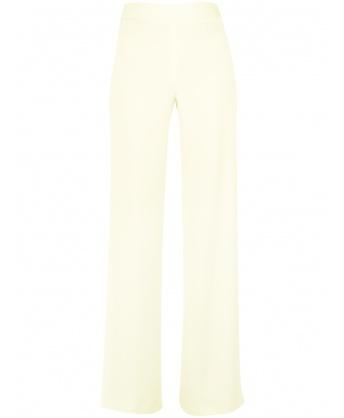 Light green jersey trousers
