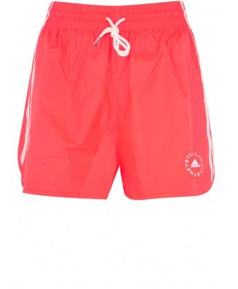 Orange sports shorts