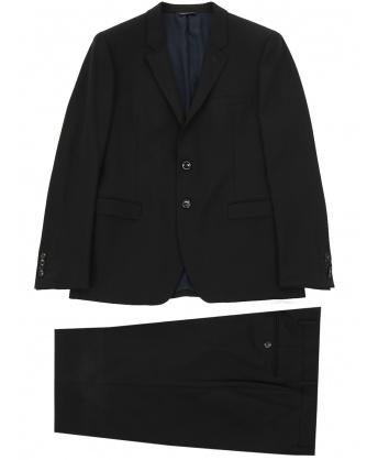 Wool suit black