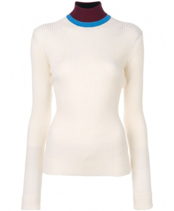 White Turtleneck