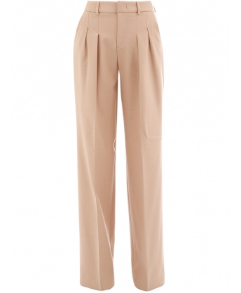Palazzo trousers beige