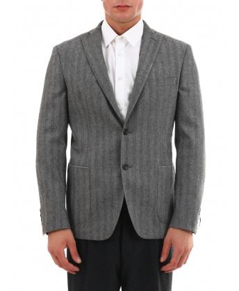 Gray Wool Jacket
