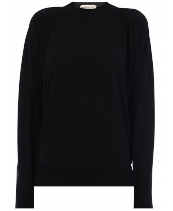 Wool sweater Black