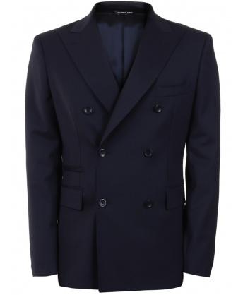 Wool jacket blue