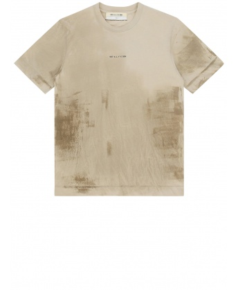 Beige t-shirt with print