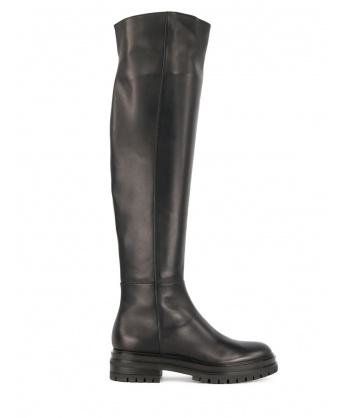 Quinn knee-high boots in leather