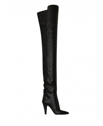Over the knee boots Betty black