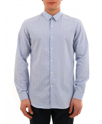 Light blue striped shirt