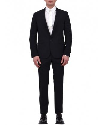 Two-piece black suit