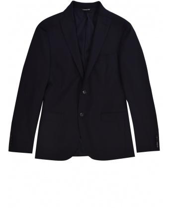 Blue Wool Jacket
