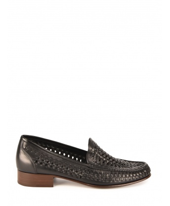 Swann leather loafer
