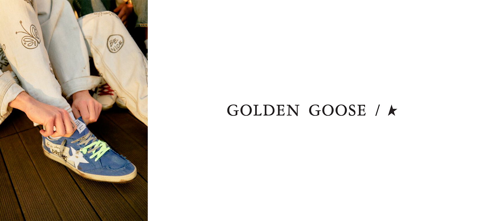 GOLDEN GOOSE - Men - Leam Roma