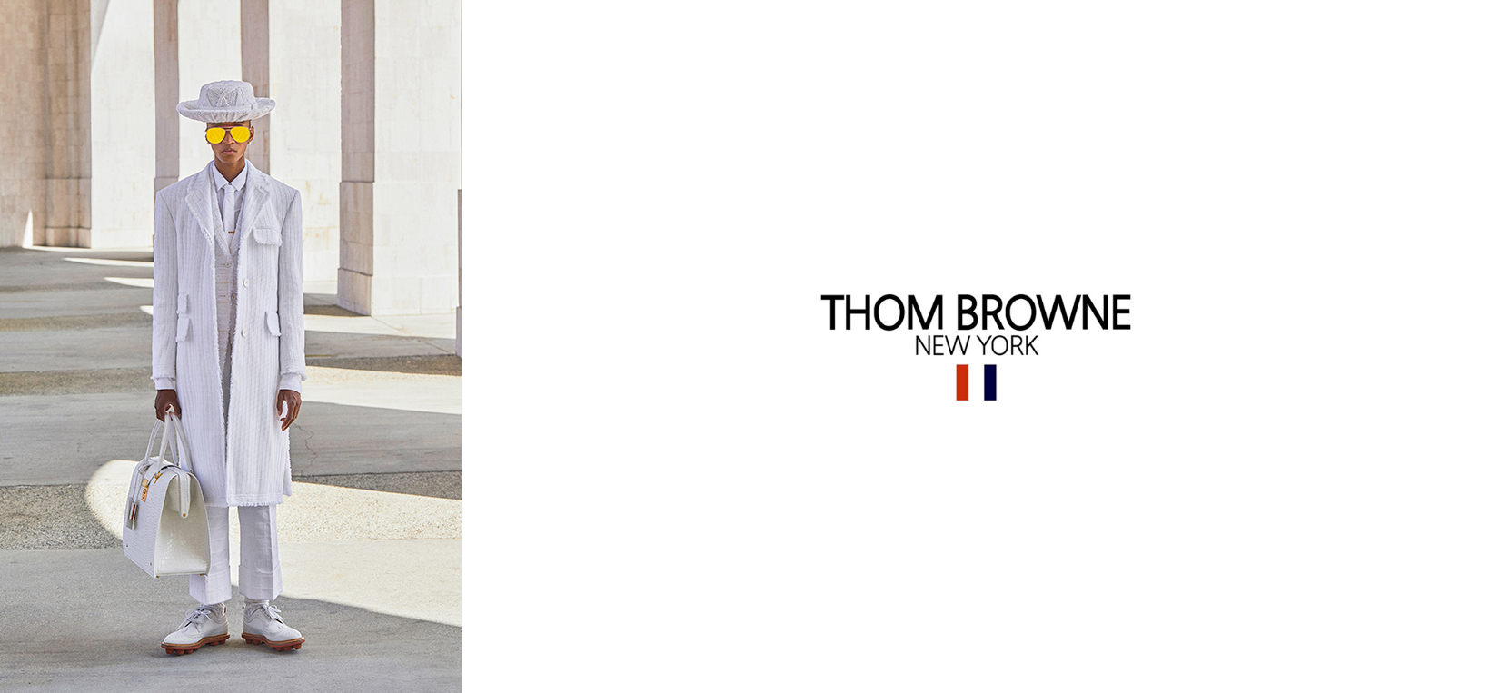 THOM BROWNE - Men - Clothing - TROUSERS - Leam Roma